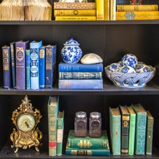 Styling Your Bookcases