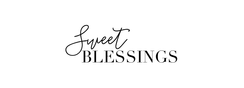 Sweet Blessings: New Year Scripture Writing Plan